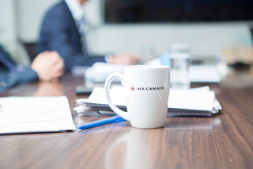 Air Canada gestion de portefeuilles
